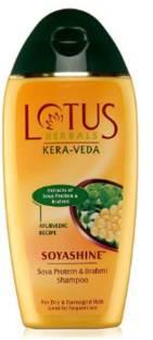 LOTUS Herbals Kera Veda Soya Protein & Brahmi Shampoo