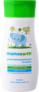 MamaEarth Gentle Cleansing Baby Shampoo : New borns, babies and kids