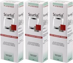 Atrimed Scurfol Anti Dandruff Topical Pack Of 3
