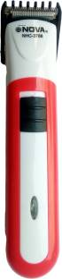 Gemei Nova NHC 3788-3206 Red Super Fast Rechargeable Professional Hair Clipper Trimmer For Men