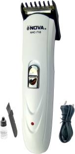 Gemei Nova NHC.718 WHT001 High Performing Body Groomer Professional Hair Clipper N009Z1 Trimmer For Men