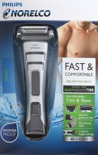 Philips BG2040 Norelco Bodygroom Series 7100 Trimmer For Men