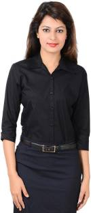 393acca4 Colormode Women's Solid Formal Other Shirt - Buy Pink Colormode ...