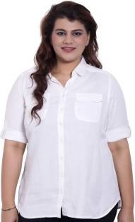 f57c0c9423b Amydus Regular Fit Women s White Trousers - Buy White Amydus Regular ...