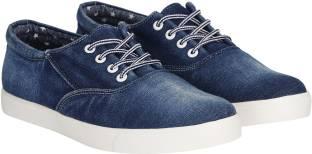 Kraasa Premium Denim Sneakers, Casuals