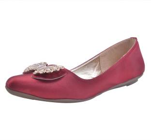 Adorn Cool and Fashionable Walking Shoes  Buy Cherry Color Adorn Cool and Fashionable Walking Shoes Online at Best Price  Shop Online for Footwears in India  SnNft1Io