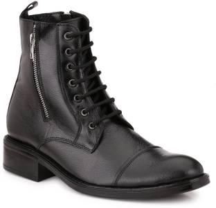 9ae414e1964 Diesel Hardkor Steel Boots For Men - Buy Dark Brown Color Diesel ...