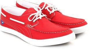 42bce90a4bc68c Puma Yacht Cvs Boat Shoes For Men - Buy Red Color Puma Yacht Cvs ...