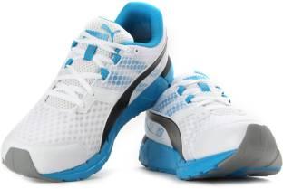 yeso contar Él  Puma Poseidon v2 Running Shoes For Men - Buy white-atomic blue-black Color Puma  Poseidon v2 Running Shoes For Men Online at Best Price - Shop Online for  Footwears in India | Flipkart.com