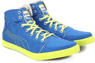 Puma Drongos DP Men High Ankle Sneakers (Blue)