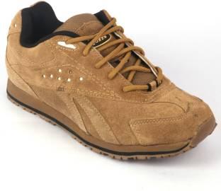 b2af1841fb66 Tuffs Camel Leather Casual Shoes For Men