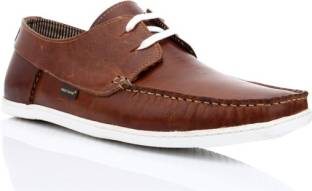 3a55b17412c6 Red Tape Men Genuine Leather Boat Shoes For Men - Buy Tan Color Red ...