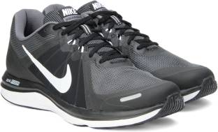 a593443dc116 Nike dual fusion x msl black   white running shoes