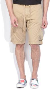 Gant Solid Men's Brown Basic Shorts