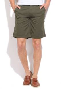 Pepe Men's Green Shorts
