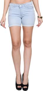 Woman Shorts | Denim Shorts & Hotpants Online - Flipkart