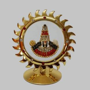 FABZONE Gold Plated With Stone Finish Lord Venkateswara