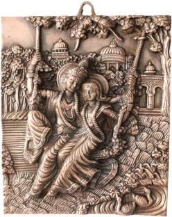 Aprt Radha Krishna Wall Hanging 15 Inch Decorative Showpiece 39 Cm