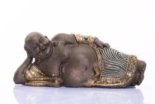 Sunrise Laughing Buddha Showpiece  -  9 cm