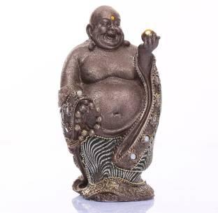 Sunrise Laughing Buddha Showpiece  -  19 cm