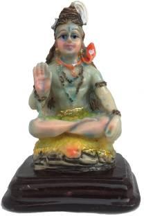 FABZONE Antique Finish Lord Shiva Shanker Statue Hindu God