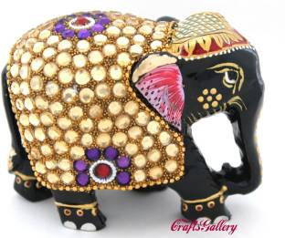 Collectible India Large Elephant Statue Beautiful Animal Figurine
