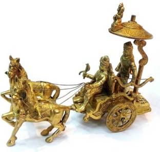 Aaradhi Divya Mantra Surya Rath 5 Inches Statue Decorative