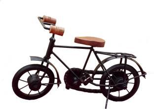 DivineCrafts Metal Bicycle Prototype Decorative Showpiece  -  20 cm