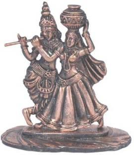 30a3c518a032 FineDor 24K Gold Leaf Frames Radha Krishna Decorative Showpiece - 16 ...