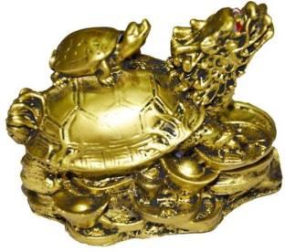 eshoppee yantra vastu feng shui metal tortoise turtle with