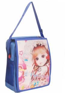 8cd311a85f Zest Girls Casual Blue Polyester Sling Bag