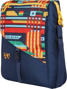 Wildcraft Women Casual Blue Polyester Sling Bag