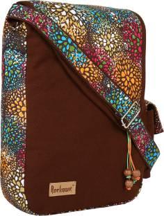 b96dd2f71f90 Ivory Tag Women Casual Multicolor Genuine Leather Sling Bag Cream ...
