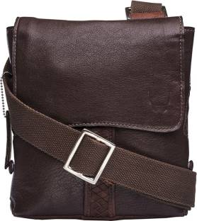 Buy Hidesign Messenger Bag Brown 01 Online   Best Price in India ... 9d4e42ee65750