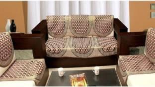 Ridhima Creations Cotton Sofa Cover