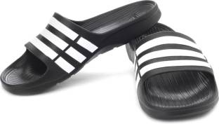 efe299ccba7c ADIDAS Duramo Slide Slippers - Buy BLACK1 WHT BLACK1 Color ADIDAS ...