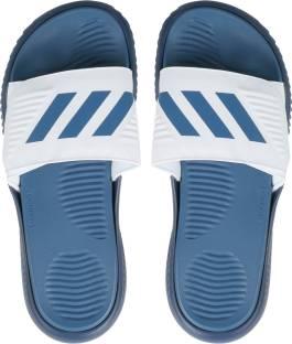 6c8b7ca2fb6 ADIDAS ALPHABOUNCE SLIDE Slippers - Buy FTWWHT CORBLU MYSBLU Color ...