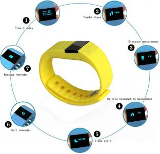 Callmate CMBTSBTYW Fitness Smart Band