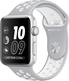 APPLE Watch Nike+ - 38 mm Silver Aluminium Case with Flat Silver / Volt Nike Sport Band