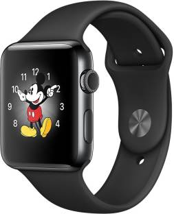 APPLE Watch Series 2 - 42 mm Space Black Stainless Steel Case with Space Black Sport Band