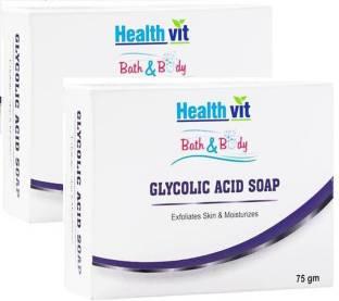 HealthVit Bath & Body Sulphur Cleansing Soap 75g - Price in