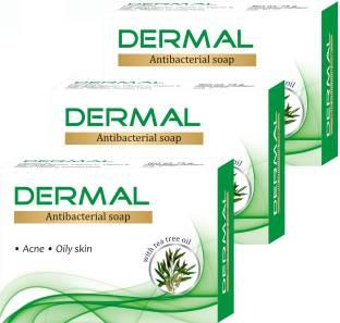 Dermal Antibacterial Soap - Pack of 3