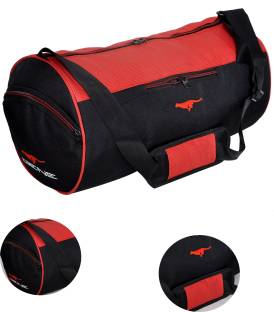 Gene MN 0288 RED BLK Gym Bag