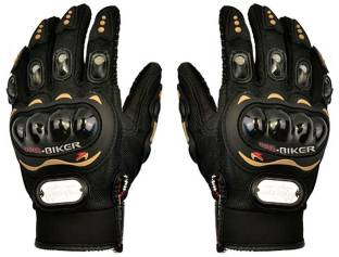Probiker MCS-01A Skid-Proof Full Finger Motorcycle Racing - Black (Pair / XL-Size) Riding Gloves