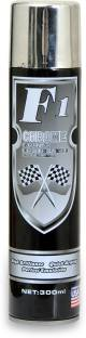 F1 PREMIUM CHROME SILVER Spray Paint 300 ml