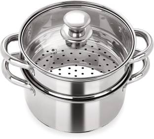 PRISTINE Multipurpose Induction Base Steamer Stainless Steel Steamer