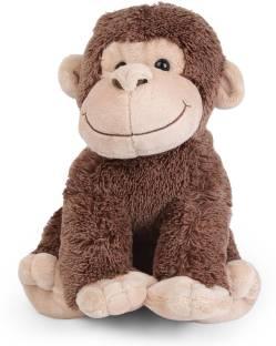 Starwalk Monkey Plush Dark Brown Colour - 29 cm