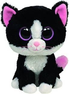 4d854e8bfa4 Ty Beanie Boos Ty Beanie Boos Flora Black White Skunk Plush - 20 ...