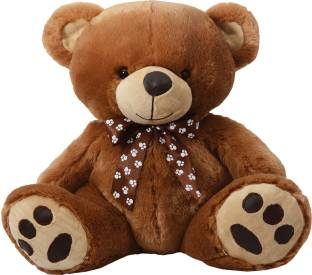Dimpy Bear with Leather Paws - 40 cm