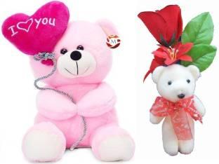 0dcfc5b5b MGPLifestyle - Valentine I Love You Pink Ballon Heart Teddy (22 C..